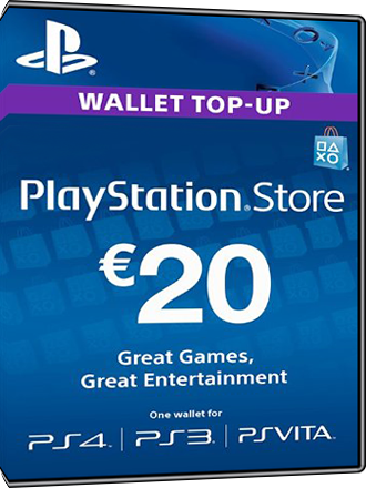 PSN Card 20 Euro [DE] - Playstation Network Guthaben Screenshot
