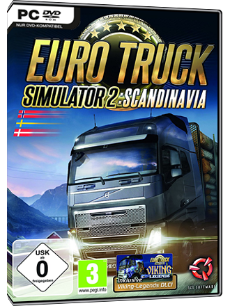 Euro Truck Simulator 2 - Scandinavia (Addon) Screenshot
