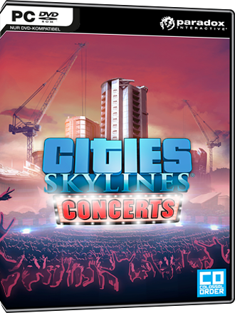 Cities Skylines - Concerts DLC Screenshot