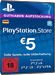 PSN Card 5 Euro [DE] - Playstation Network Guthaben