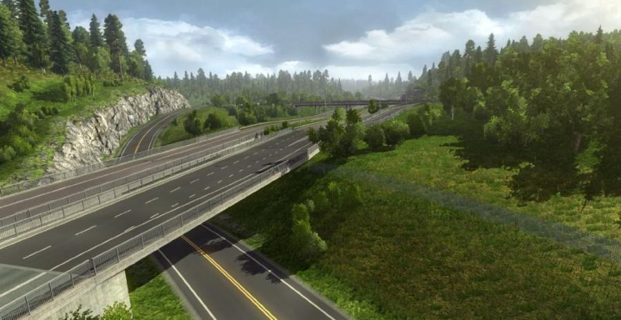 Euro Truck Simulator 2 - Scandinavia (Addon) Screenshot 7