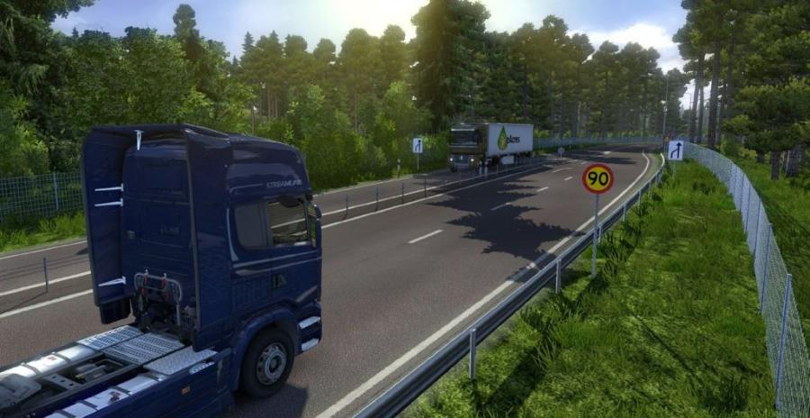 Euro Truck Simulator 2 - Scandinavia (Addon) Screenshot 2
