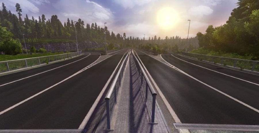 Euro Truck Simulator 2 - Scandinavia (Addon) Screenshot 5