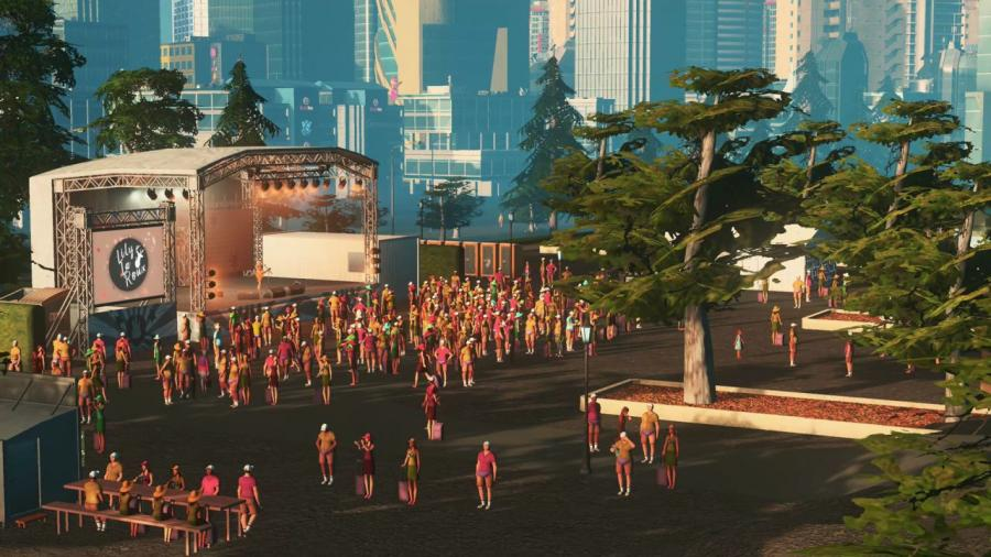 Cities Skylines - Concerts DLC Screenshot 3