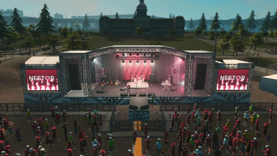 Cities Skylines - Concerts DLC Screenshot 2