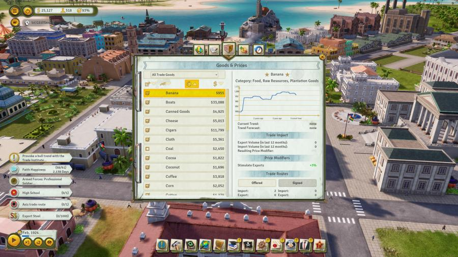 Tropico 6 - The Llama of Wall Street (DLC) Screenshot 6