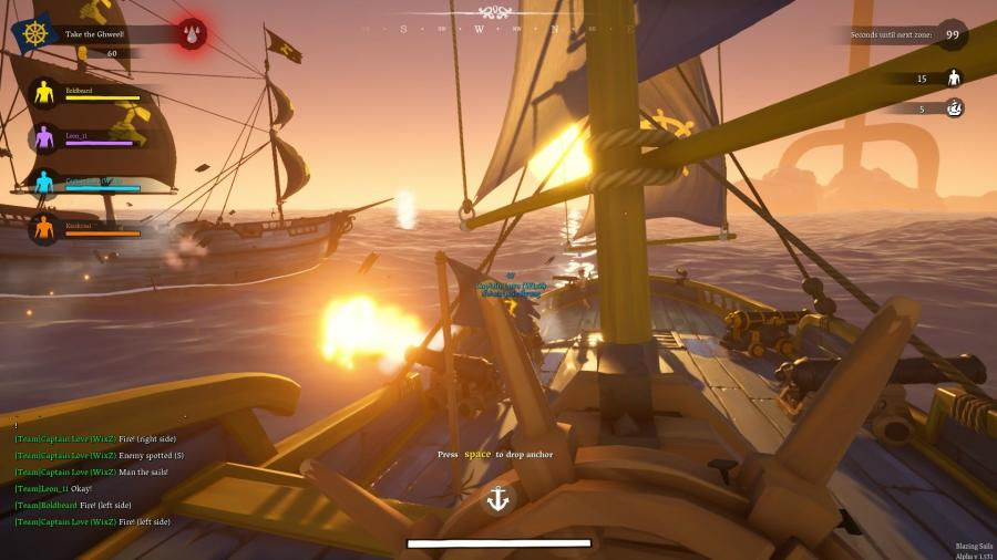 Blazing Sails - Pirate Battle Royale Screenshot 3