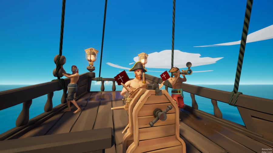 Blazing Sails - Pirate Battle Royale Screenshot 9