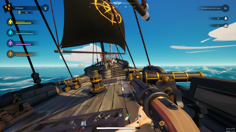 Blazing Sails - Pirate Battle Royale Screenshot 2