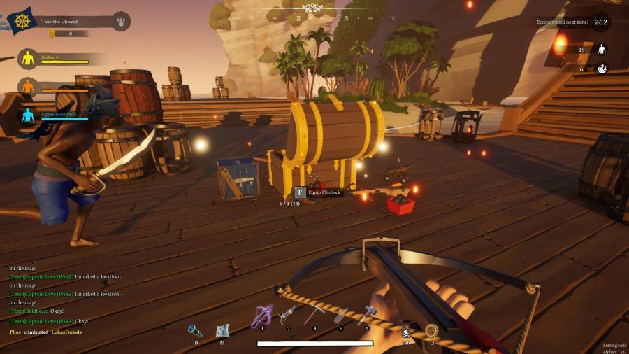 Blazing Sails - Pirate Battle Royale Screenshot 5